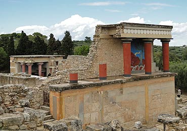 The Archaeological site of Knossos